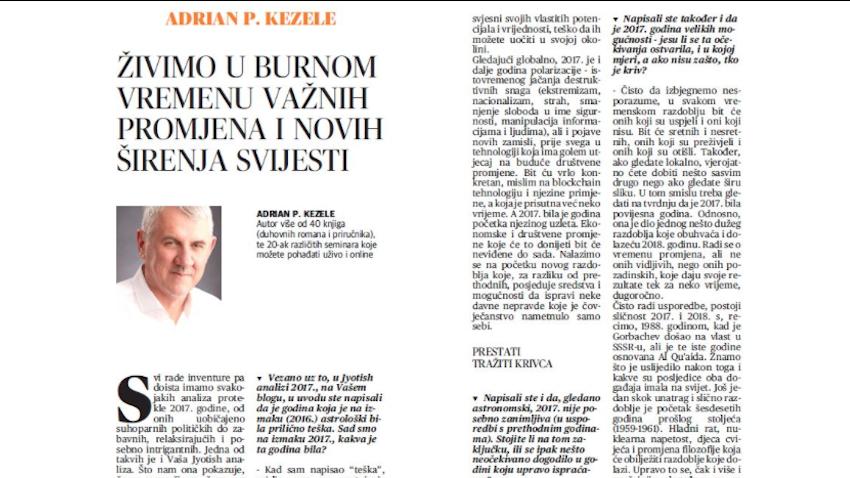 Intervju, Glas Slavonije